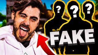 FINGERSI un FAKE POW3R in SQUAD su FORTNITE!
