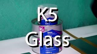 Обзор шпатлевки K5 Glass