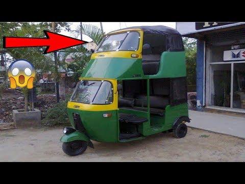 Modified Auto Rickshaw  Crazy Auto  Modification in India  HD VIDEO   CAR CARE TIPS