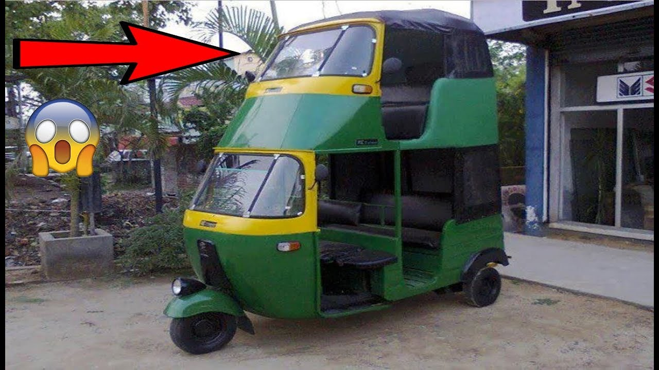 Modified Auto Rickshaw Crazy Auto Modification in India HD VIDEO ...