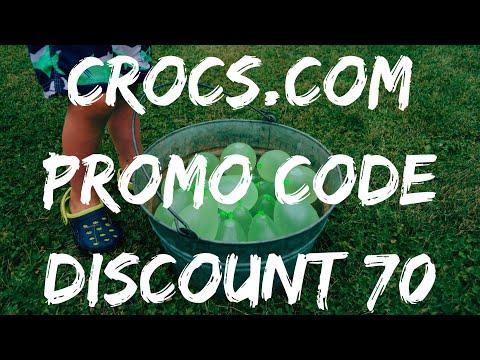 CROCS PROMO CODE 💸 DISCOUNT COUPON 💸 70% OFF!