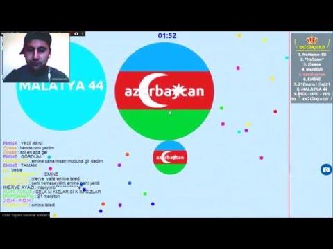 Agar.io Azerbaycan (#!1)