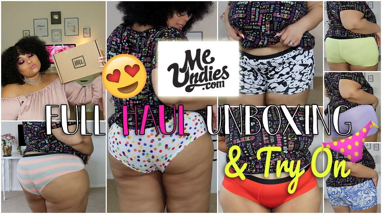 1558842c4bb PLUS SIZE CUTE   COMFY UNDERWEAR TRY ON - YouTube