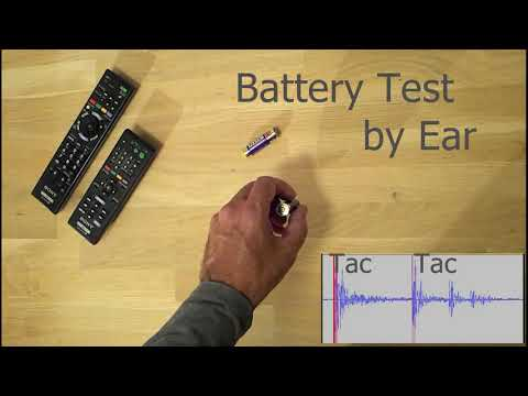 Battery test by ear - yes, you can • r/lifehacks