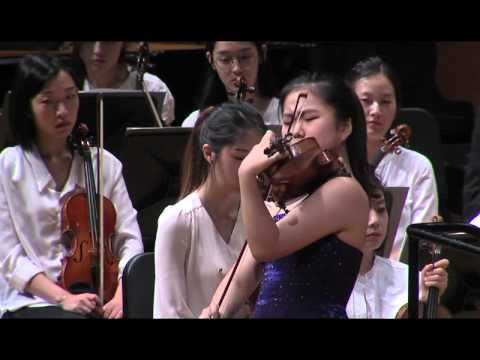 SooBeen Lee(15 years old}-Sibelius Violin Concerto in d minor,Op. 47 1st mov.