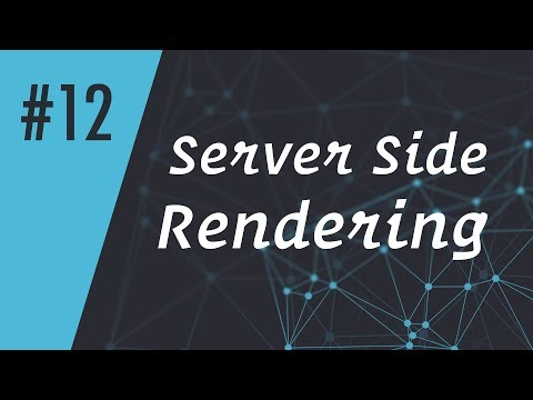 ReactCasts #12 - Server Side Rendering