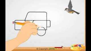 How to draw a jeep - Ekas books