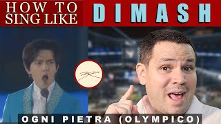 How to sing like Dimash Ogni Pietra: Voice Teacher & Opera Stage Director Reacts, Analyzes, Teaches