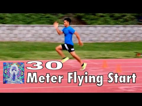 30 Meter Flying Start - Track And Field