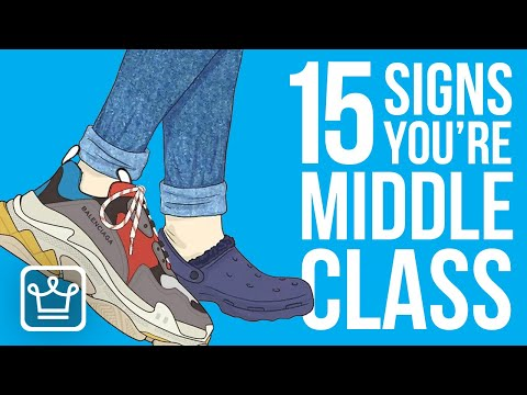 15 Signs Youre in the Middle Class