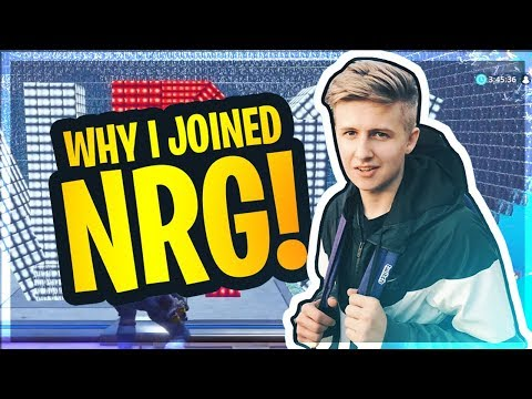 Symfuhny Joins NRG (REVEAL!)