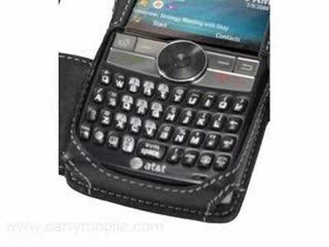 CarryMobile Leather Case for Samsung SGH-I617/ Blackjack II