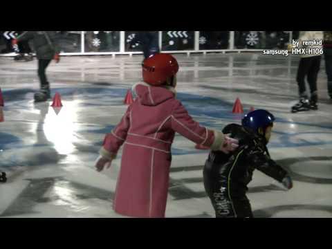 Gwanghwamun Square Skating Rink in Seoul