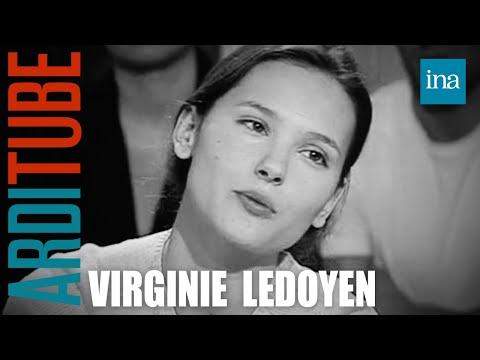 """Virginie Ledoyen à propos du film """"La plage"""" - Archive INA"""