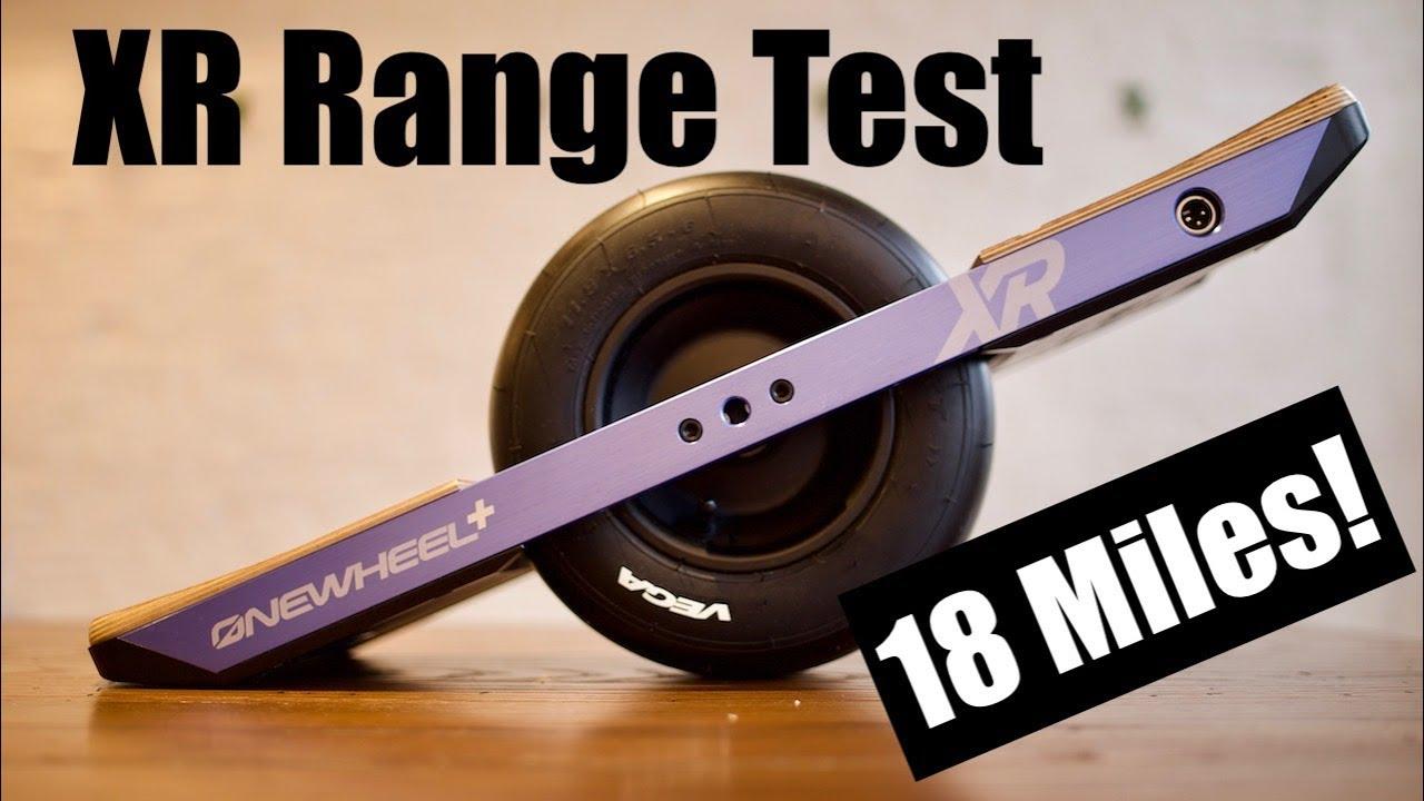 Onewheel Xr Range Test