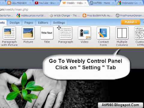 how to submit weebly blog site sitemap in google webmaster tool
