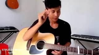 Hướng dẫn guitar cover GÁNH HÀNG RAU của PS band