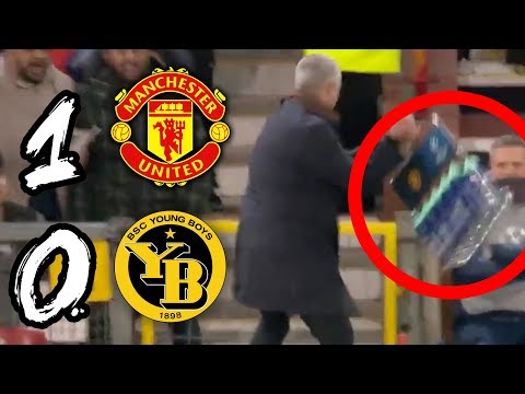 MOURINHO'S MAD CELEBRATION: LUCKY WIN? | MAN UTD 1-0 YOUNG BOYS