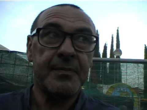 Maurizio Sarri riceve la chiocciola d'oro - gonews.it