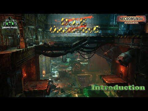 Draazi Plays D.I.E in the Underhive (Necromunda Underhive Wars) E00 - Introduction  