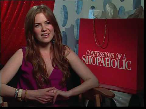 Isla Fisher interview for Confessions of a Shopaholic