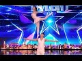 Gao Lin & Liu Xin STUNS Everyone With Their Acrobatics | Week 2 | Britain's Got Talent 2017