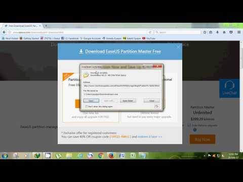 Download and Install Easeus Partition Master For Free     2017     100% Working    