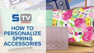How to Personalize Spring Accessories with Your Heat Press