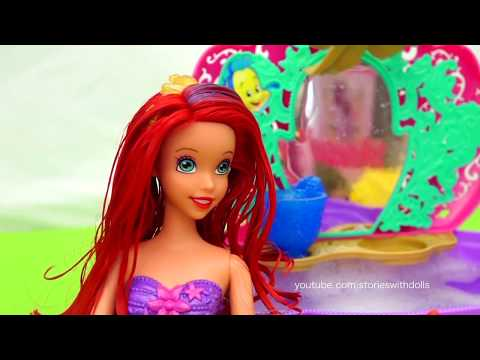 Melody's Mermaid Friend ! Toys and Dolls Fun for Kids Playing with Ariel The Little Mermaid Doll