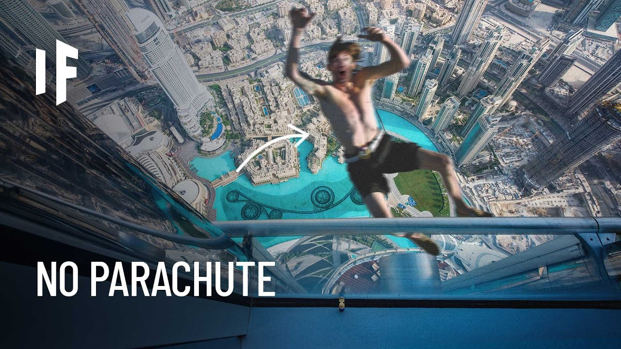 What If You Fell Off the World's Tallest Building?