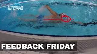 Keep Your Head Here To Stop Your Legs From Splaying | Swimming Tip | Alignment