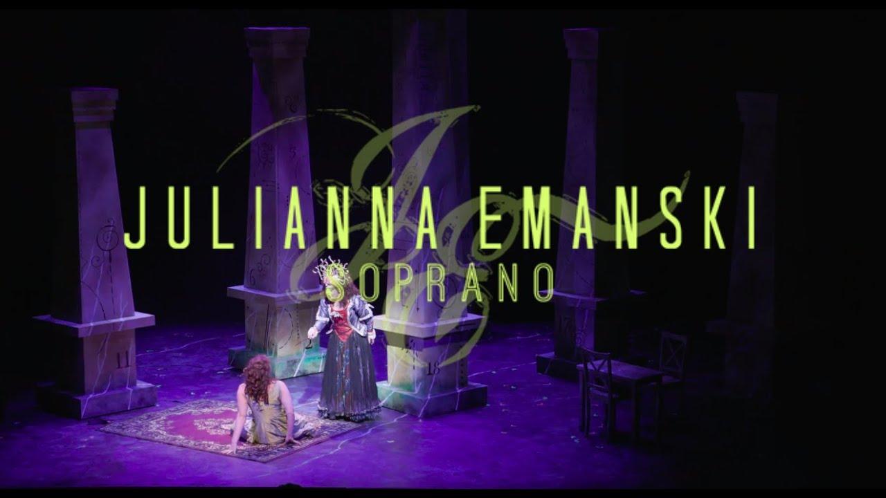 Der hölle rache - Die Zauberflöte - The Magic Flute - Mozart - Julianna Emanski