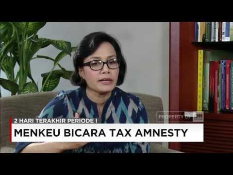 Menkeu Sri Mulyani Bicara Tax Amnesty