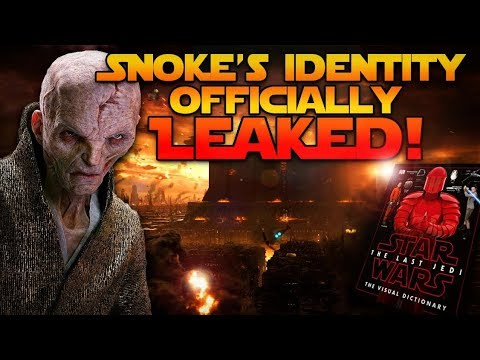 Snoke's Identity Officially LEAKED! (MAJOR LAST JEDI SPOILERS)