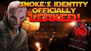 Snoke's Identity Officially LEAKED! (MAJOR LAST JEDI SPOILERS)
