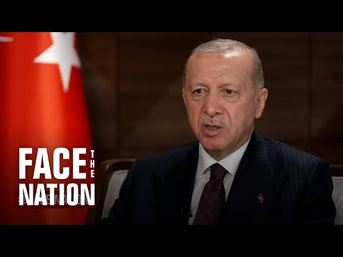 """Extended interview: Turkish President Recep Tayyip Erdoğan on """"Face the Nation"""""""