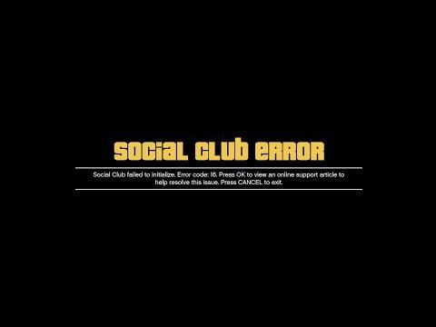 GTA 5 Social Club Error Fix Çözümü Sesli Kısa Öz Anlatım