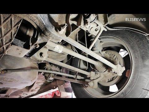 развал задних колёс РЕНО ДАСТЕР