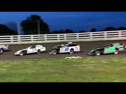 Southern Iowa Speedway - Oskaloosa Iowa Sport Mod A-Main 9-26-19 Pt. 1