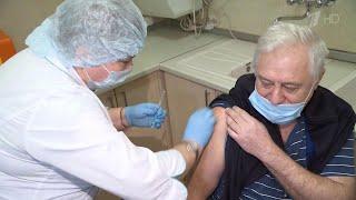 По всей стране идет массовая вакцинация от коронавируса