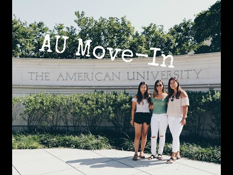 American University Move - In | D.C. Vlog