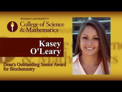 2017 Dean's Outstanding Senior Award: Biochemistry