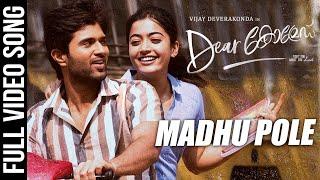 Madhu Pole Video Song | Dear Comrade Malayalam | Vijay Deverakonda,Rashmika |Bharat Kamma|Sid Sriram