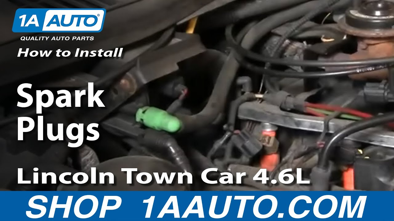 2000 Chevy Cavalier Engine Diagram How To Install Replace Spark Plugs Lincoln Town Car 4 6l