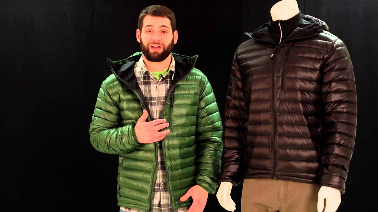 EMS Mens Icarus Hooded Down Jacket - YouTube