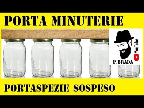 Porta minuterie o portaspezie sospeso by paolo brada diy for Porta borse fai da te