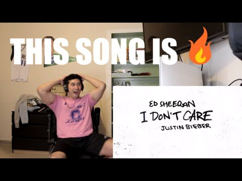 Ed Sheeran & Justin Bieber - I Don&39;t Care - REACTION