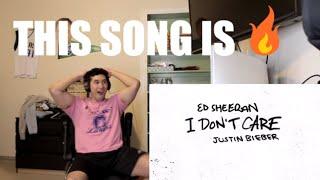 Baixar Ed Sheeran & Justin Bieber - I Don't Care - REACTION!!!