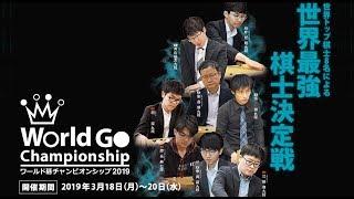 World Go Championship 2019 Semifinals(English  Version)