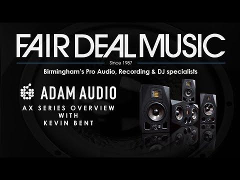 Adam Audio AX Overview at Fair Deal Music